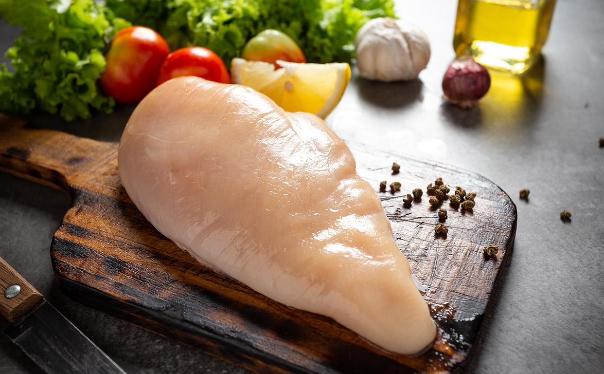 سینه مرغ زی خوراک