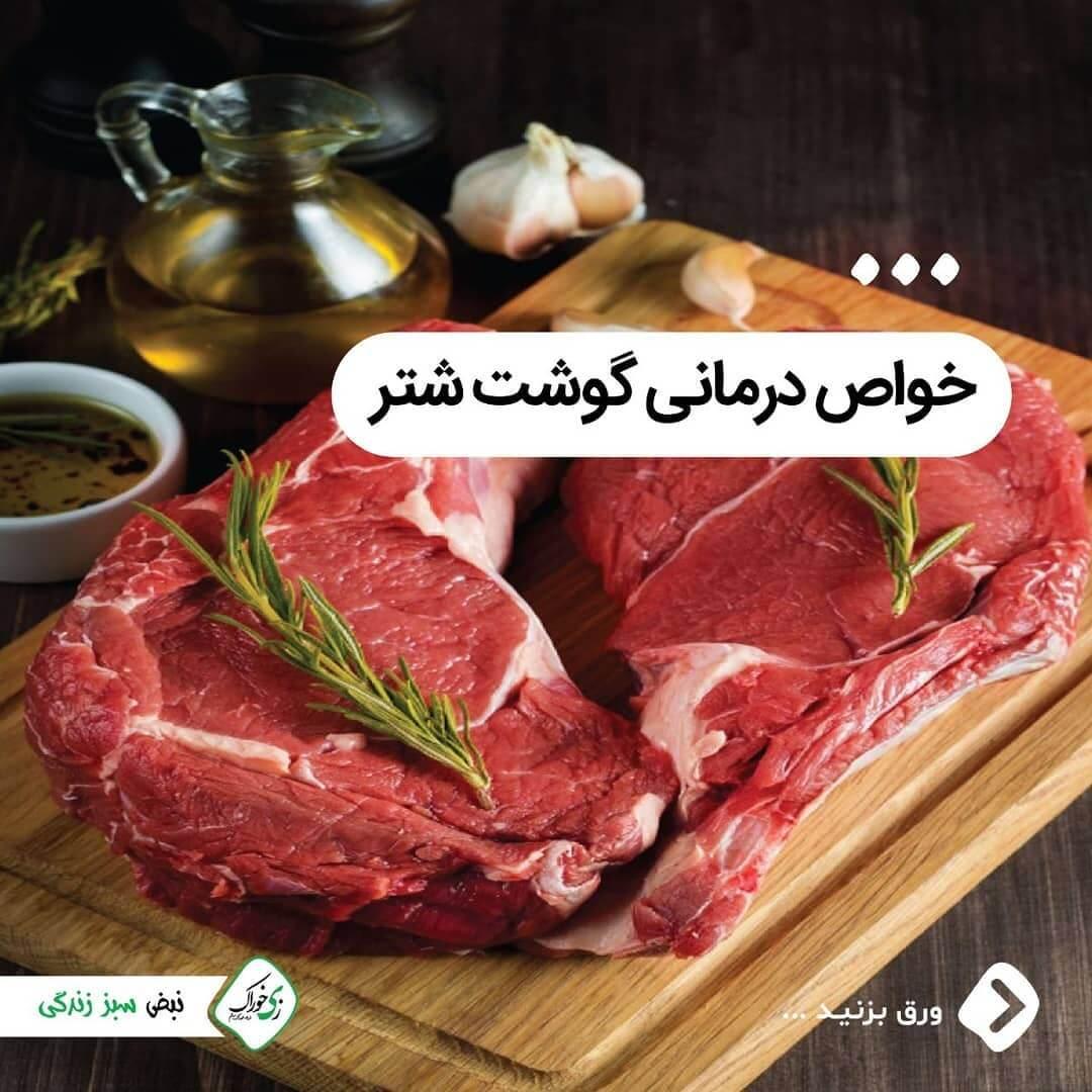 خواص درمانی گوشت شتر